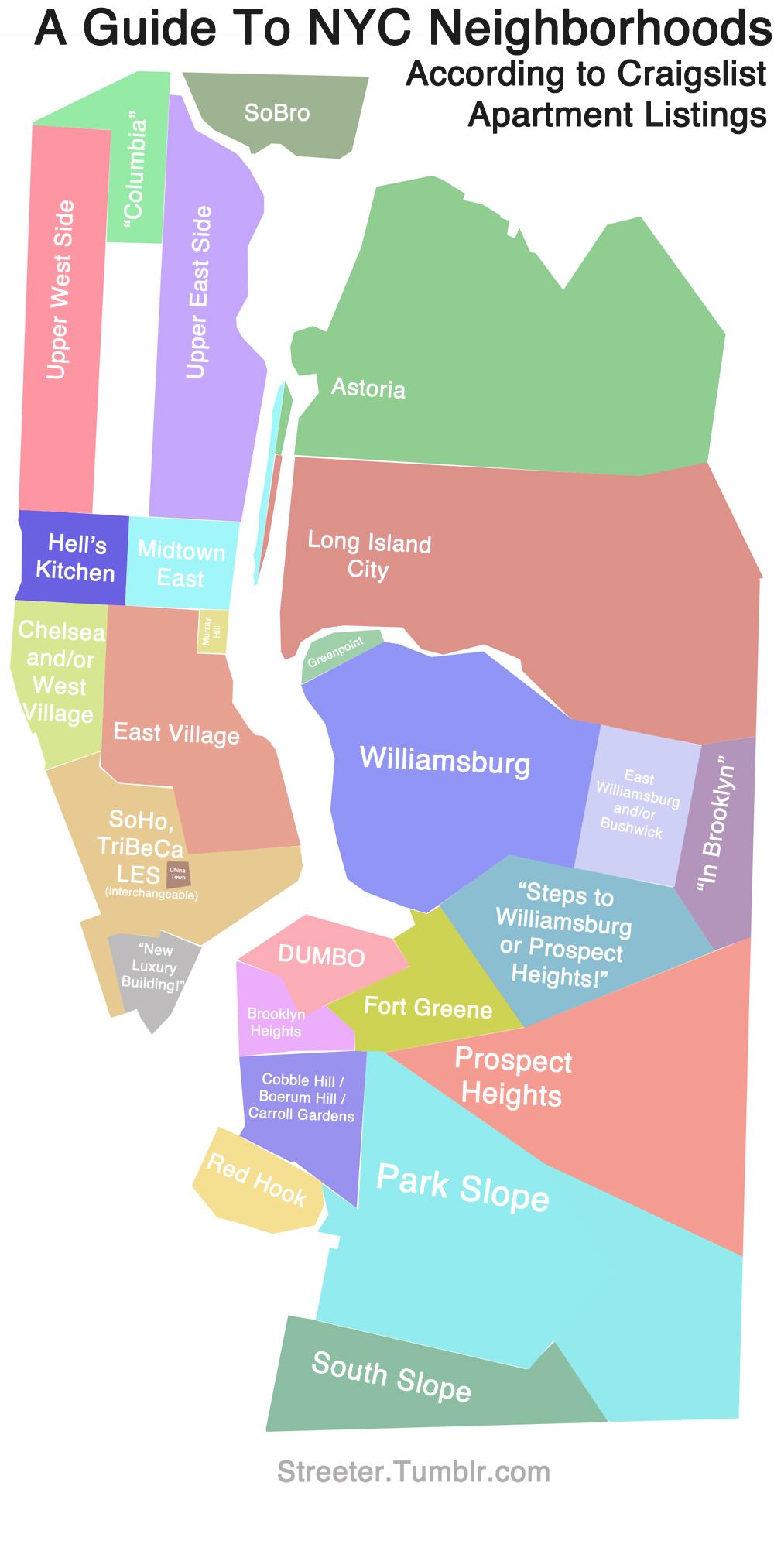 AwkwardPaul - Nyc map funny