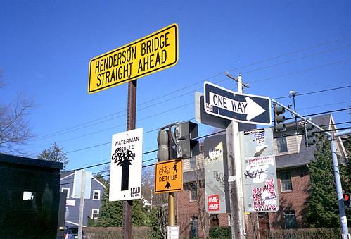 Signs by Armadillo Commander via I {heart} Rhody