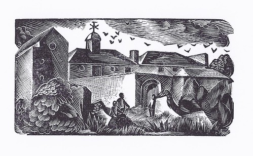 Wood Engraving by Elizabeth Rivers