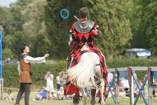 Jousting Photo by Peter Trimming/ Wikimedia Commons