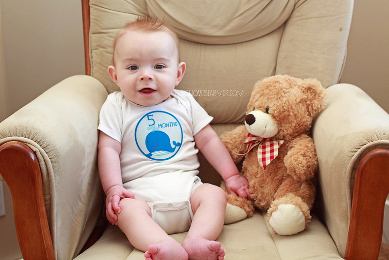 Ethan is 5 Months Old!