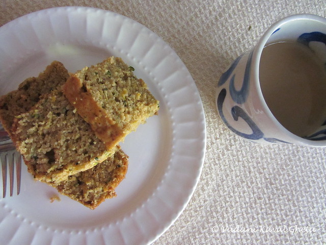 ... कवळ घेता - Vegetarian Recipes): Vegan Zucchini Cake