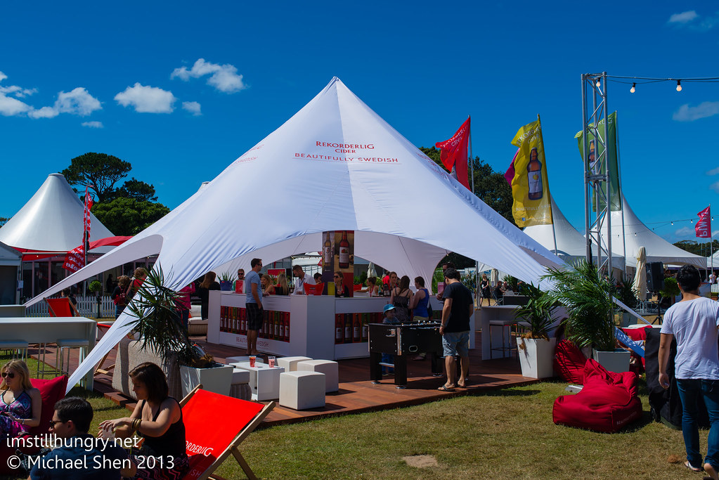 Taste of Sydney bar tents