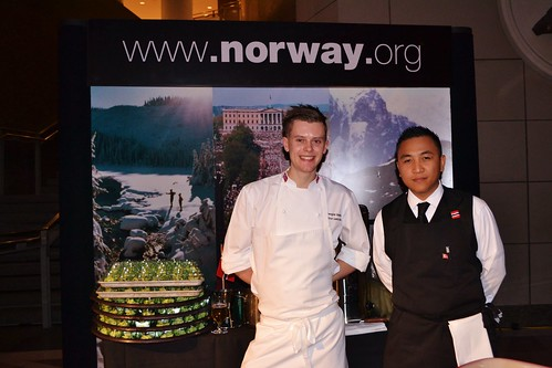 Chef Simon Liestol Idso from Norway