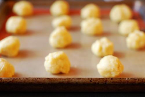 Vegan Mandarin Coconut Cookies (pre-pressing) by Eve Fox, Garden of Eating blog, copyright 2013