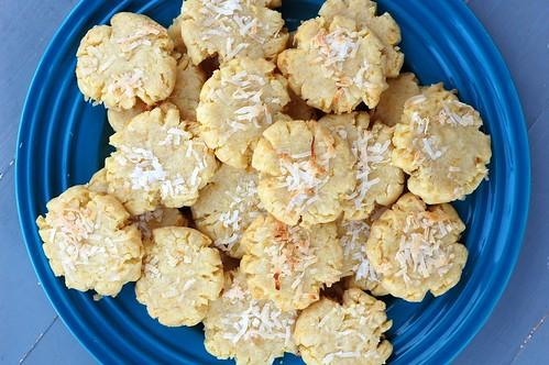 Vegan Mandarin Coconut Cookies by Eve Fox, Garden of Eating blog, copyright 2013