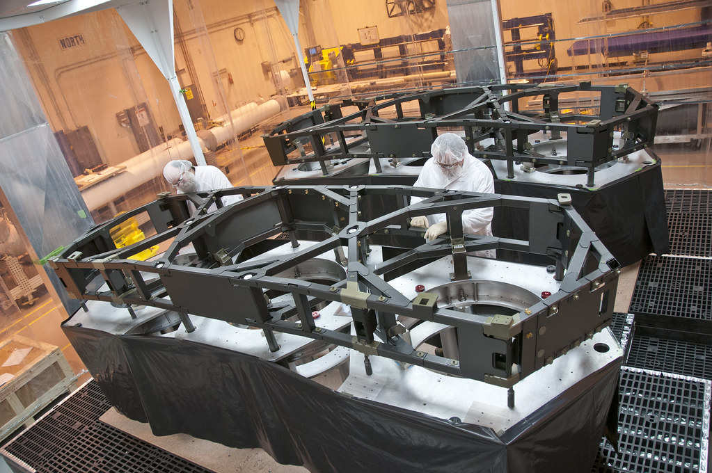 The James Webb Space Telescope gets its wings