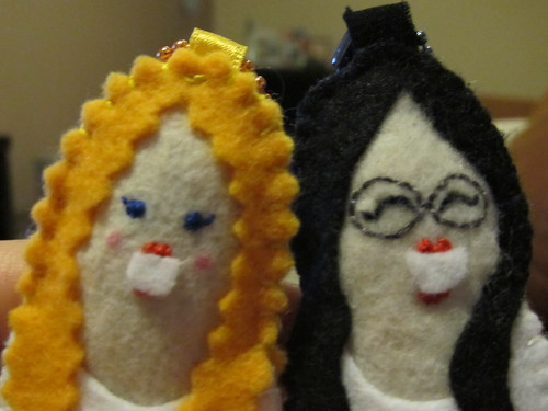 Felt Dolls Keychain