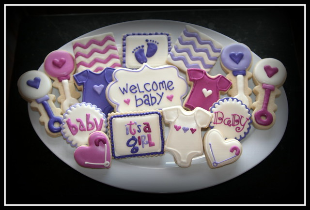 Pink/Purple Baby Shower