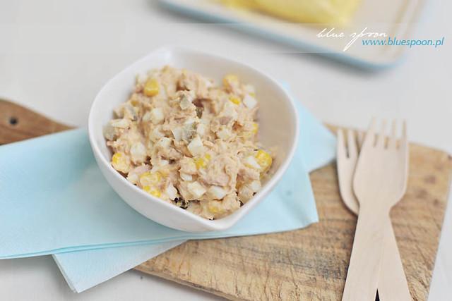 sałatka z tuńczykiem - sprawdzony przepis