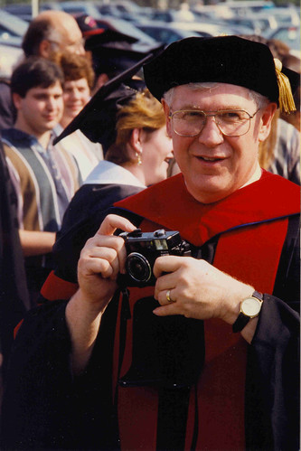 Dr. Biberstein at graduation