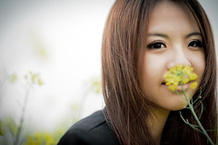 [Free Images] People, Women - Asian, People - Flowers / Plants, Taiwanese People ID:201303261400