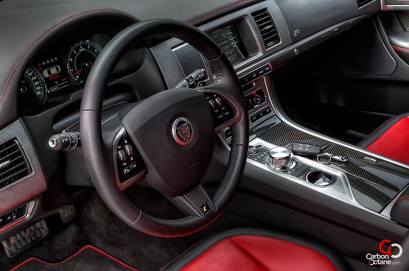 2013 Jaguar XFR interior front.jpg