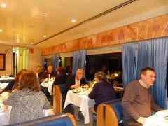 Imagen del Vagón restaurante del Elipsos Trenhotel