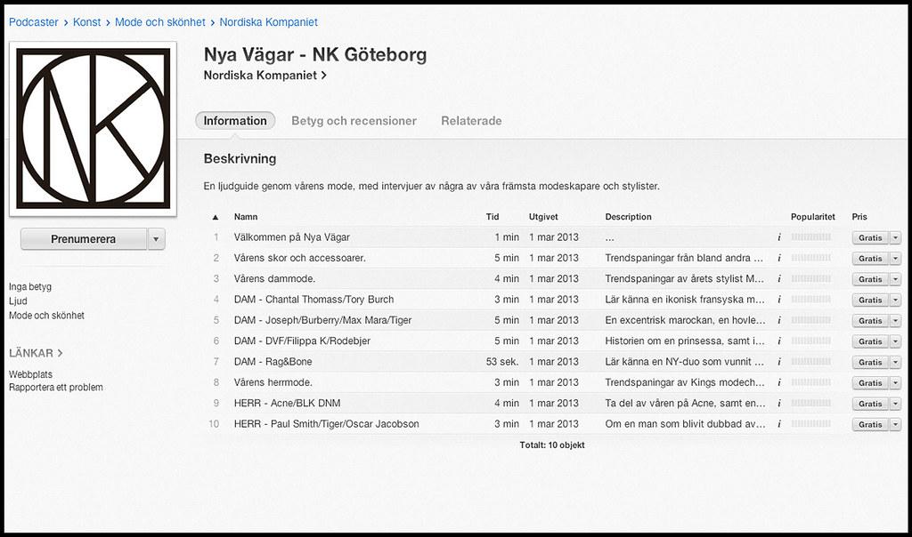 Det går också bra att ladda ner Nya Vägar som podcast.