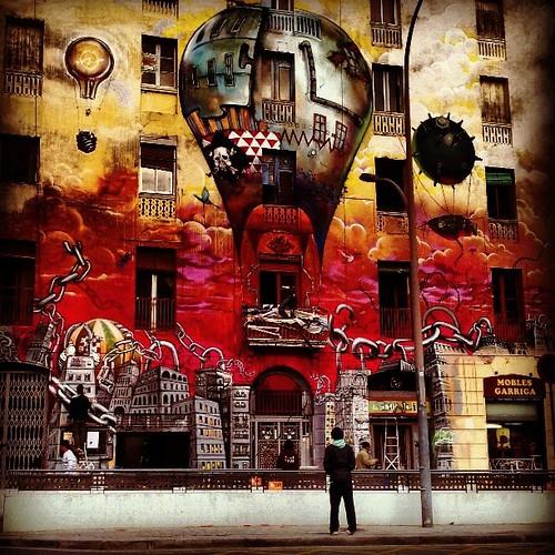#instagram #igerspain #instagramer #instamood #igerespaña #instamatic #ig #instagramers #igersbarcelona #igers #instagrammers #ilovebarcelona #instagramhub #graffiti #street_art #artecallejero #paint #photooftheday #picoftheday #Barcelona #barcelonagram #