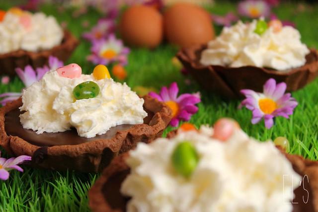 Tartelettes chocolat praliné