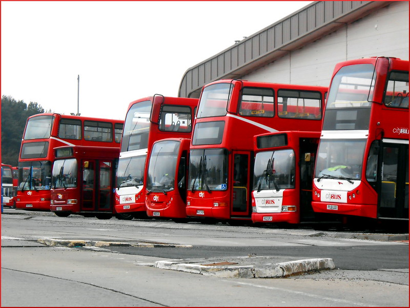 Plymouth Citybus Ex-Stockwell PVLs 431 W483WGH and 436 X571EGK are seen resting in Milehouse on 'Death Row'.