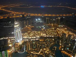 The Address Downtown Dubai, quartier de Souk Al Bahar et Business Bay