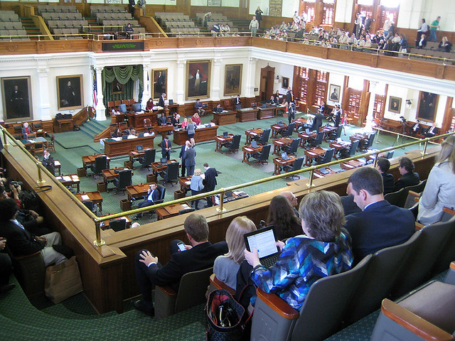 Texas Senate Room
