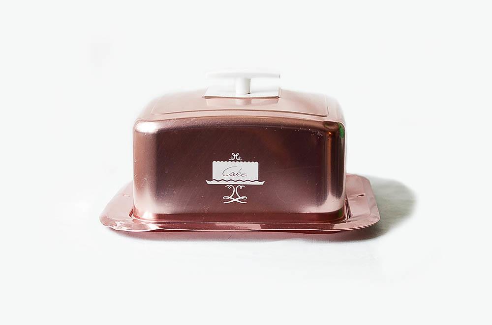 Vintage Pink Cake Box