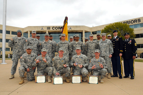 3d CR dominates all in rifle marksmanship competition
