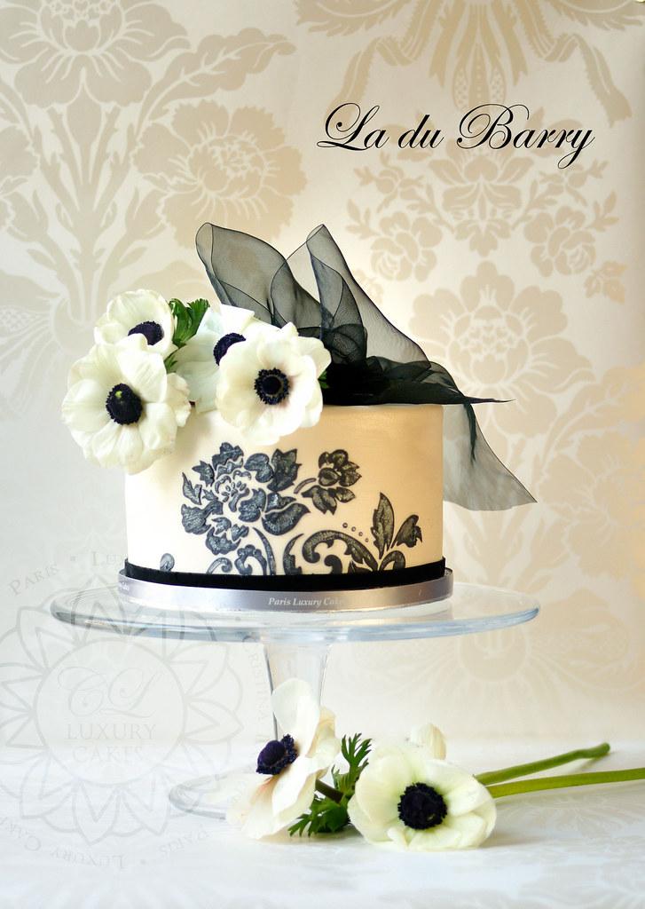 Fine Birthday Cake By Paris Luxury Cakes Cristina Lasarte Flickr Funny Birthday Cards Online Inifodamsfinfo