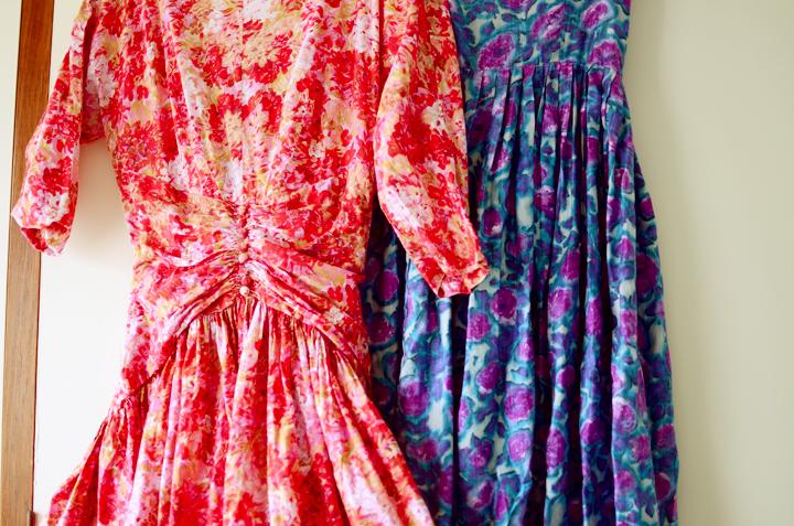 vintage full skirt dresses b