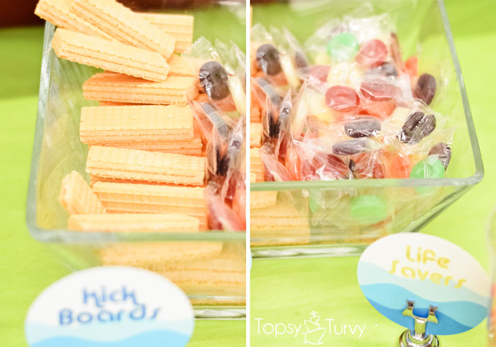 Easy Pool Party Food Ideas use clean sandpails to put food in for a beachswimming party use the The Ultimate Beach Party Disney Pink