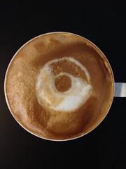 Today's latte, Chromium.