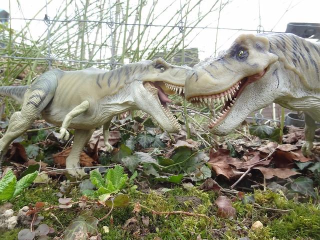 Jurassic Park Toys T Rex : Jurassic park toys diorama thrasher t rex flickr