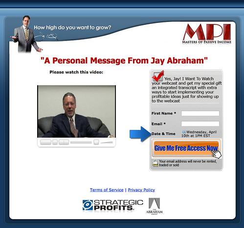 ジェイ・エイブラハム(Jay Abraham)『Masters of Passive Income』