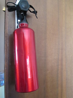 water bottle security alarm