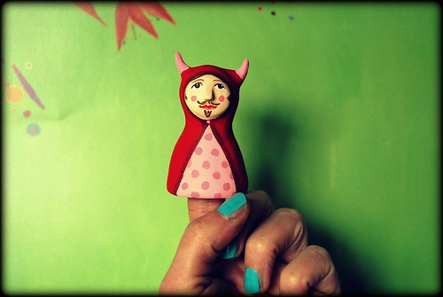 Little red riding...Devil