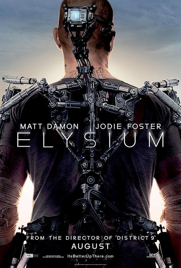 fuckyeahmovieposters: Elysium Elysium Poster