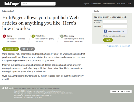 HubPages for Guest Blogging