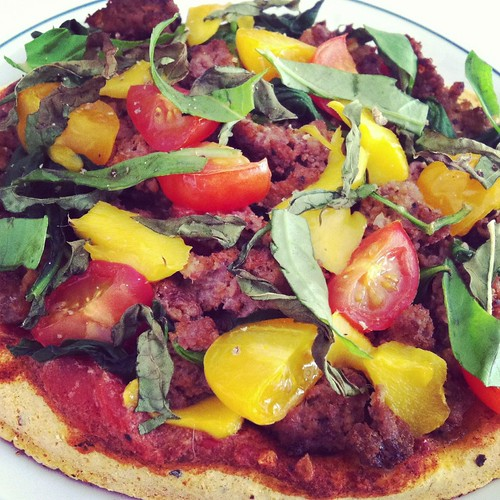 Mango Bison Pizza