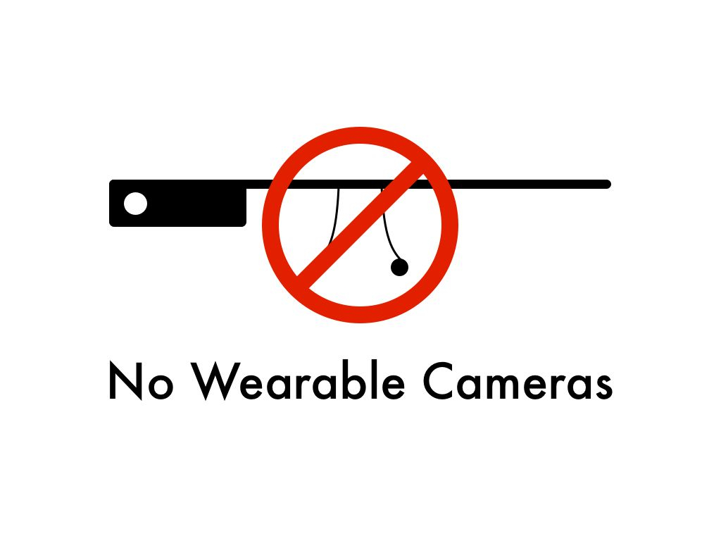 No Wearable Cameras