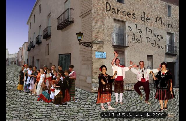 Dansesde Muro a la Plaça del Palau any 2010