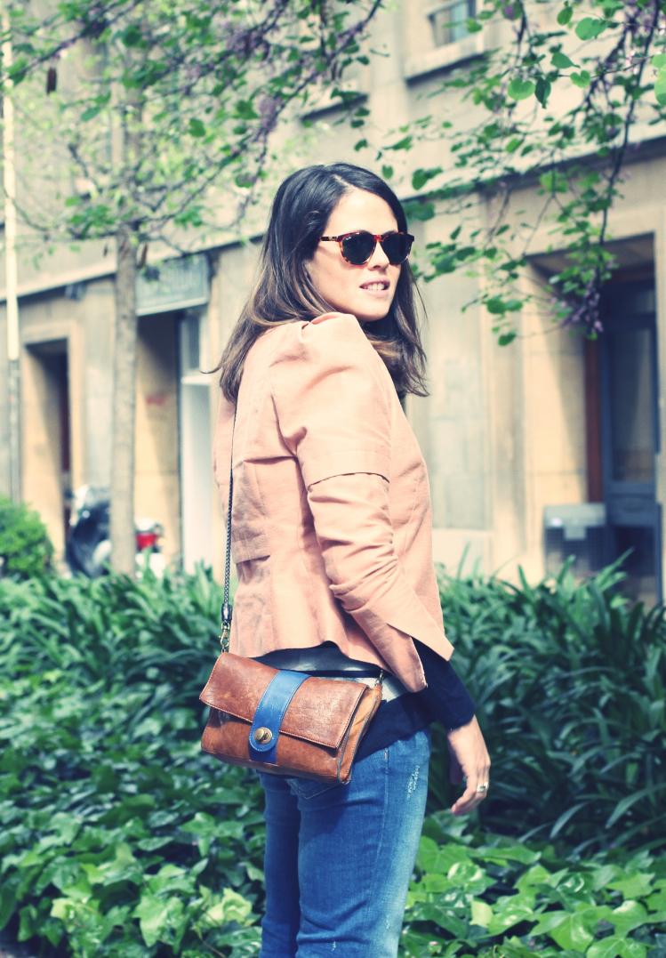 Look rayas + jeans - Monicositas