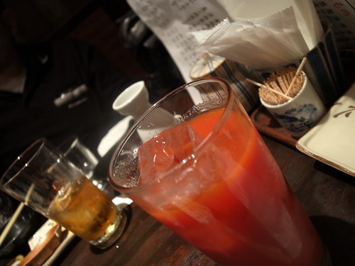 トマトジュースばっかり飲んでた