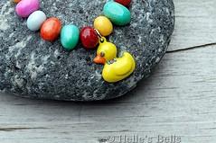 Rubber Ducky Charm Bracelet