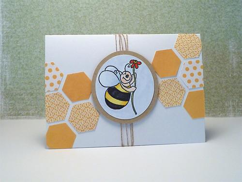 Bee card #155