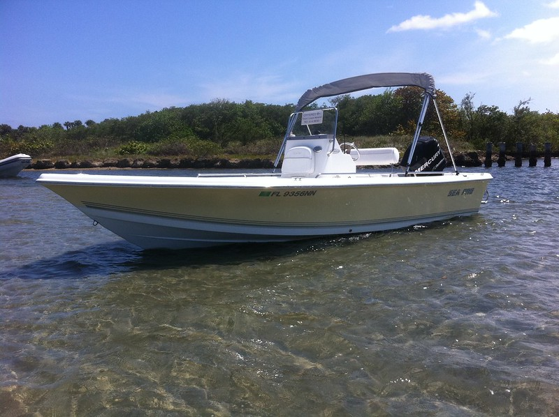 2008 21ft Sea Pro Sv2100 Fishing Machine   19 995 Obo