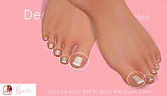 DeeTaleZ Slink TOE NAILS HUD