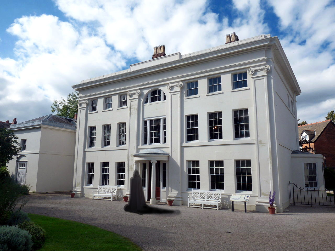 Soho House in Handsworth, Birmingham, a regular venue for meetings of the Lunar Society. Derivative works by David James based on photo by Wehwalt
