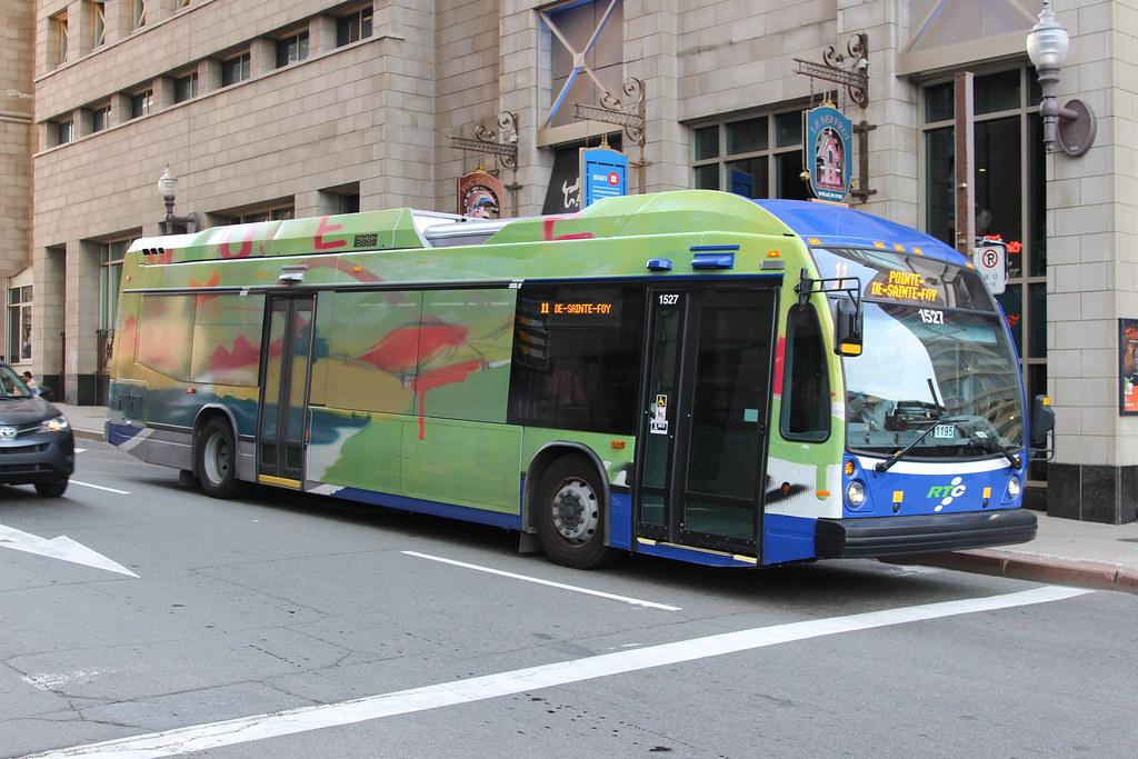 RTC Nova Bus LFS HEV 1527