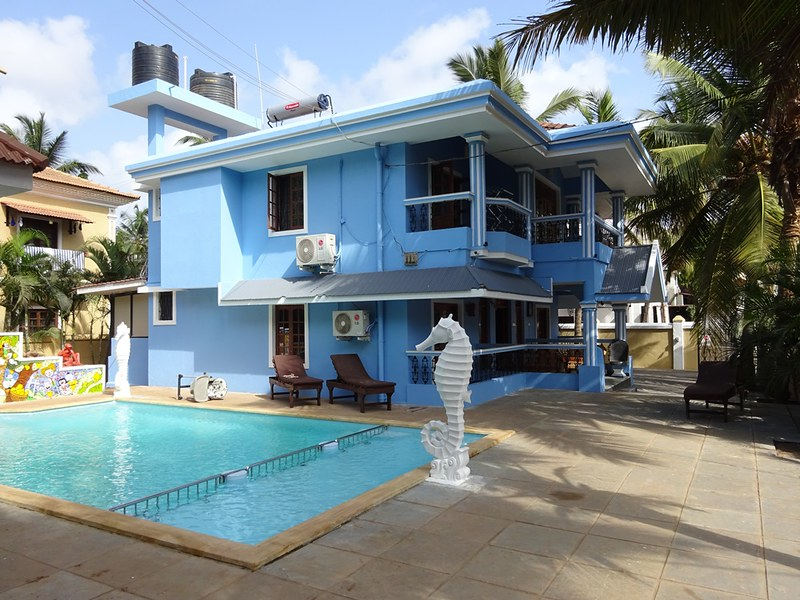 Premium Beachside Villa in Calangute