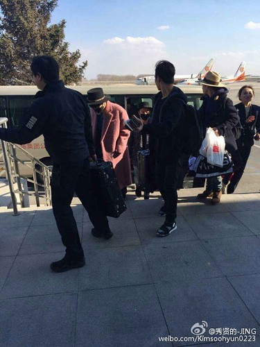 Big Bang - Harbin Airport - 21mar2015 - Kimsoohyun0223 - 01