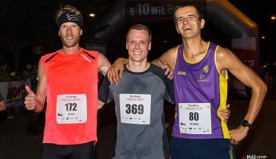 Noční běh 5 10 mil Brnem má napotřetí nové vítěze